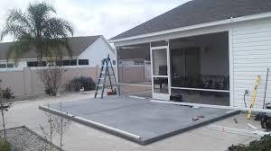 concrete slabs wood decks aluma tec