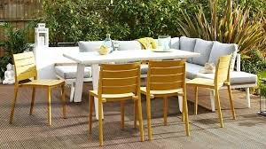 outdoor table brown wicker accent table