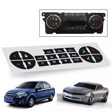 New Car Ac Dash Button Repair Sticker Decal Kit Dash 07 13 For Chevrolet For Buick For Gmc Vehicles Car Decal Stickers Car Stickers Aliexpress