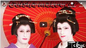nomadic male geisha in tokyo an