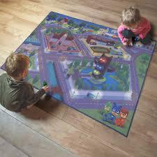 Pj Mask Kids Car Play Game 46 X 61 Multicolor Area Rug Walmart Com Walmart Com