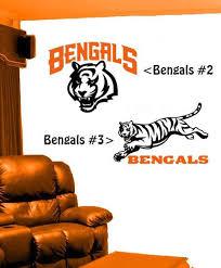 Cincinnati Bengals Design 2 Or 3 Vinyl Decal For Your Car Etsy