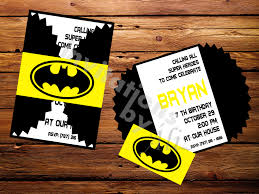 Batman Invitaciones De Batman Cumpleanos Batman Fiestas De