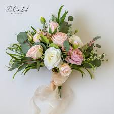 peorchid romantic garden wedding bridal