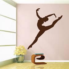 Gymnastics Girl Wall Decal Trendy Wall Designs