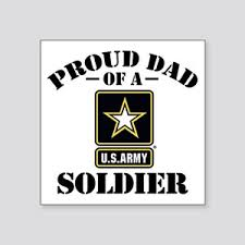 Proud Army Dad Stickers Cafepress