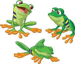Tree Frog Set Creative For Kids