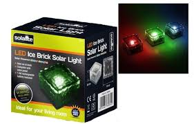 1 x solalite colour changing solar led