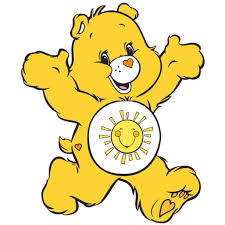 Funshine Bear Care Bear Cartoons Customized Wall Decal Custom Vinyl Wall Art Personalized Name Baby Girls