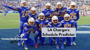 LA Chargers Schedule Predictor - 2020 ...