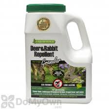 Will Liquid Fence Granular Deer Rabbit Repellent Work To Repel Dogs From Garden