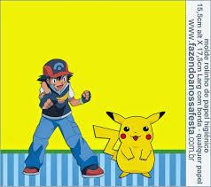 Pokemon Free Printable Candy Bar Labels Imprimir Gratis Candy Bar