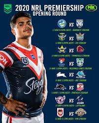 Nrl | NRL 2020 Draw: Fixtures, Clubs ...