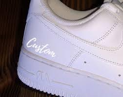 Custom Shoe Decals Etsy