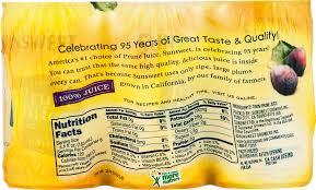 sunsweet fruit juice prune 5 5 fl oz
