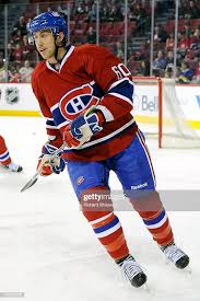 Aaron Palushaj of the Montreal Canadiens skates during the the warm... News  Photo - Getty Images