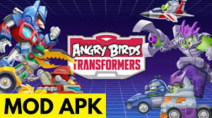 Angry Birds Transformers Mod Apk Unlimited Money & Unlimited Coins ...