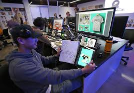 Laguna art college students try to put their designs in play for Anaheim  Ducks - Los Angeles Times