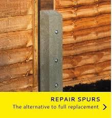 Concrete Repair Spur Posts