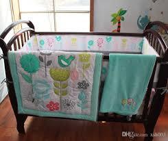 baby girl boy crib bedding set