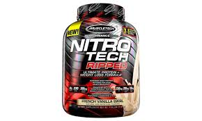 muscletech nitro tech ripped whey