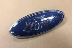 1x Oem F 150 Emblems Badge New Custom 04 08 Matte Black For Ford Rear Tailgate