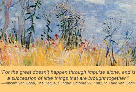 quotes from vincent van gogh denver art museum