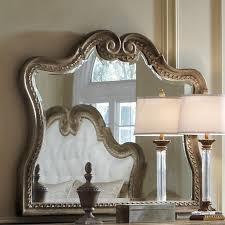 curved mirror pulaski furniture