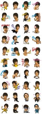 Bruce Lee Sticker For Line Whatsapp Telegram Android Iphone Ios