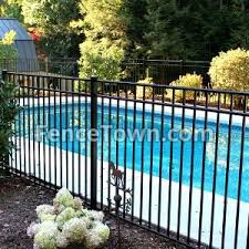 Aluminum Pool Fence Swimming Pool Fence Fencetown