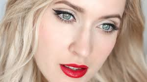 pin up makeup tutorial for blondes and