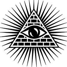 Shining Triangle All Seeing Eye Car Auto Window Decal Tme Emb D 01042 All Seeing Eye All Seeing Eye Tattoo Eye Tattoo