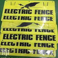 Electric Fence Warning Signs In Nairobi Central Safety Equipment Mike Mike Jiji Co Ke For Sale In Nairobi Central Buy Safety Equipment From Mike Mike On Jiji Co Ke