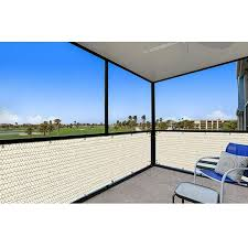 Amazon Com Coarbor Privacy Fence Screen Mesh For Balcony Porch Verandah Deck Terrace Patio Backyard Railing 160gsm Up To 9 Backyard Patio Porch Veranda Patio