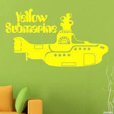 Decal The Beatles Yellow Submarine Buy Vinyl Decals For Car Or Interior Decal Factory Stickerpro Different Colors And Sizes Is Avalable Free World Wide Delivery