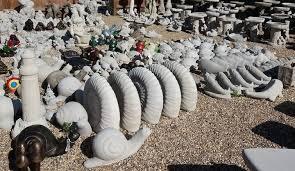 cast in stone garden ornaments