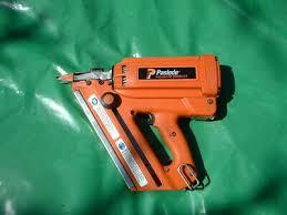 paslode im350 orange tip nail gun first