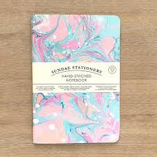 opal marbled notebook ashley gift