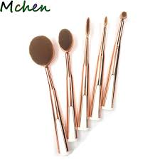 makeup brushes set cosmetic cream