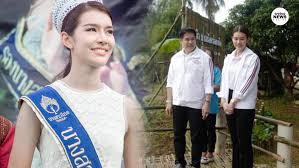 เปิดภาพ จุ๊บจิ๊บ ธนพร ศรีวิราช ภรรยา ธรรมนัส พรหมเผ่า ดีกรีนางสาวไทย