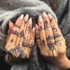 Veronicalilu Jagua Black Stain Mehndi Henna Tattoo Designs