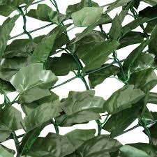 Amazon Com Giantex Artificial Hedges Faux Ivy Leaf Decorative Trellis Privacy Fence Screen Mesh 40 X Privacy Fence Screen Hedges