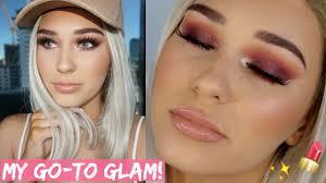 blonde s full glam makeup