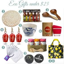 eco gifts under 25