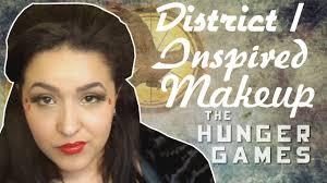 hunger games makeup no bland makeup