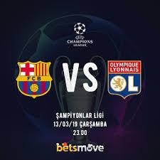Barcelona - Lyon maçı izle. Canlı izle. Maç izle güvenilir bahis ...