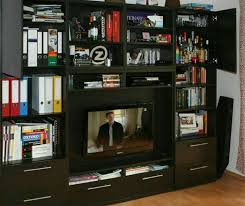 Ikea Besta Tv Schrank Wand Schwarz Braun In 45128 Essen For
