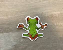 Tree Frog Decal Etsy