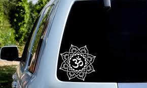 Om Om Symbol Mandala Om Mandala Peace Decal Laptop Car Tumbler Sticker Phone Holograph In 2020 Vinyl Decal Stickers Tumbler Stickers Vinyl Decals