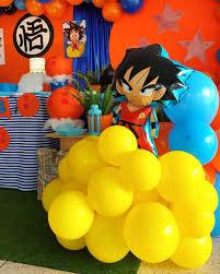 Fiesta De Dragon Ball Z Ideas Para Decorar El Cumpleanos